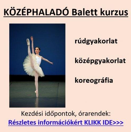 Középhaladó balett